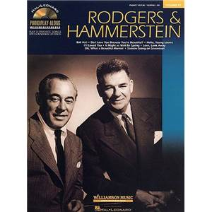 RODGERS / HAMMERSTEIN - PIANO PLAY ALONG VOL.041 + CD