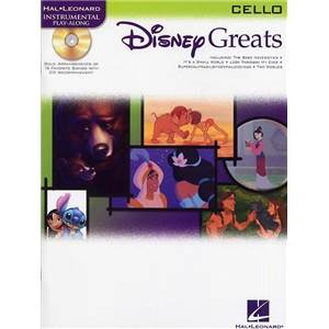 DISNEY - GREAT FOR CELLO (VIOLONCELLE) + CD