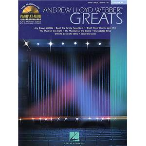 WEBBER ANDREW LLOYD - PIANO PLAY ALONG VOL.027 + CD