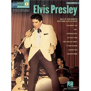 PRESLEY ELVIS - PRO VOCAL FOR MALE SINGERS VOL.23 VOL.1 + CD