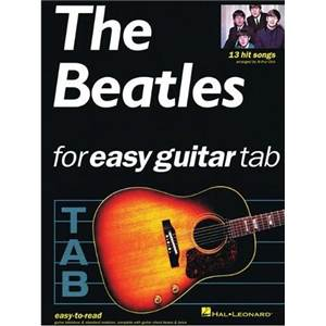 BEATLES THE - EASY GUITAR 13 HIT SONGS TAB ÉPUISÉ