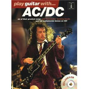 AC/DC - PLAY GUITAR WITH... + CD