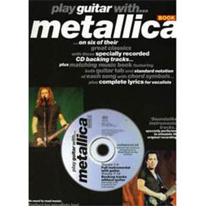 METALLICA - PLAY GUITAR WITH VOL.2 TAB. + CD