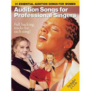 COMPILATION - AUDITION SONGS FOR FEMALE SINGERS : 31 ESSENTIAL + 2CDS