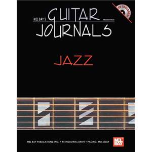 ANDREWS LEE DREW - GUITAR JOURNALS JAZZ TAB. + CD