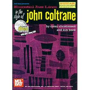 COLTRANE JOHN - ESSENTIAL JAZZ LINES TAB. + CD