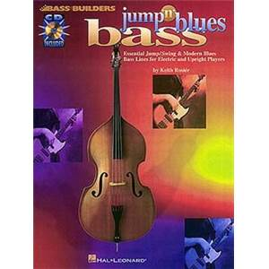 ROSIER KEITH - BASS BUILDERS JUMP 'N' BLUES BASS + CD