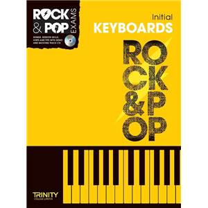 COMPILATION - TRINITY COLLEGE LONDON : ROCK & POP INITIAL FOR KEYBOARD + CD