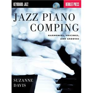 DAVIS SUZANNE - BERKLEE JAZZ PIANO COMPING HARMONIES, VOICINGS AND GROOVES + CD