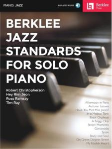 COMPILATION - BERKLEE JAZZ STANDARDS FOR SOLO PIANO + ONLINE AUDIO ACCESS