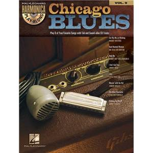 COMPILATION - HARMONICA PLAY ALONG VOL.9 CHICAGO BLUES + CD