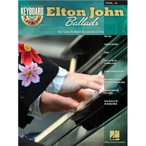 JOHN ELTON - KEYBOARD PLAY ALONG VOL.09 BALLADS + CD