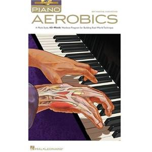 HAWKINS WAYNE - PIANO AEROBICS KEYBOARD INSTRUCTIONS + CD