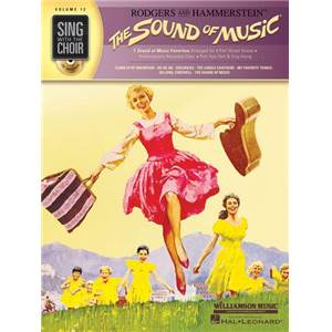RODGERS / HAMMERSTEIN - SING WITH THE CHOIR VOL.12 THE SOUND OF MUSIC + CD