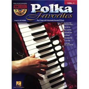 COMPILATION - ACCORDION PLAY ALONG VOL.01 POLKA FAVOURITES + CD