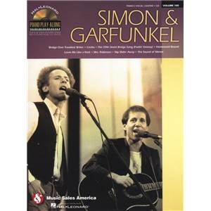 SIMON & GARFUNKEL - PIANO PLAY ALONG VOL.108 + CD