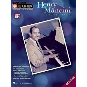 MANCINI HENRY - JAZZ PLAY ALONG VOL.154 + CD
