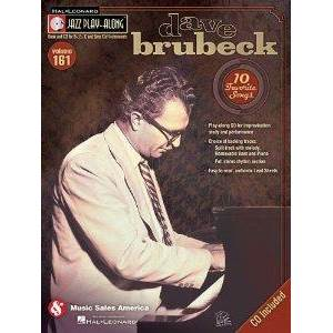 BRUBECK DAVE - JAZZ PLAY ALONG VOL.161 + CD