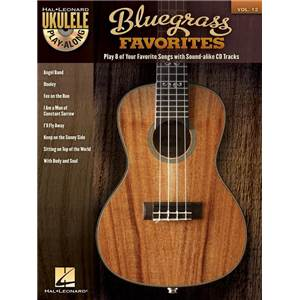 COMPILATION - UKULELE PLAY ALONG VOL.12 BLUEGRASS FAVORITES + CD