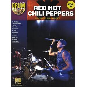 RED HOT CHILI PEPPERS - DRUM PLAY ALONG VOL.31 + CD
