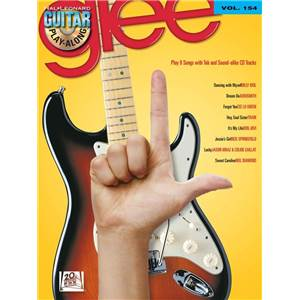 GLEE - GUITAR PLAY ALONG VOL.154 + CD