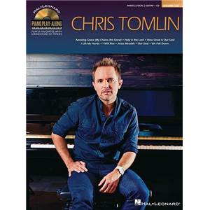 TOMLIN CHRIS - PIANO PLAY ALONG VOL.123 + CD