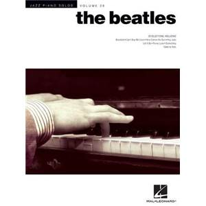 THE BEATLES - JAZZ PIANO SOLOS VOL. 28