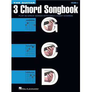 COMPILATION - 3-CHORD SONGBOOK : VOLUME 2 G-C-D