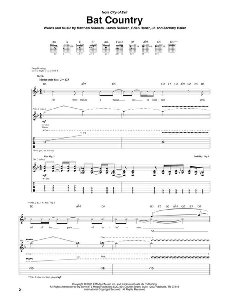 AFTERLIFE TAB (ver 3) by Avenged Sevenfold
