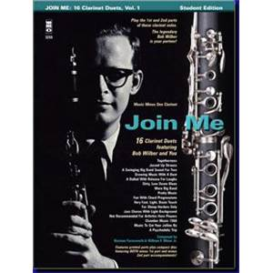 COMPILATION - JOIN ME 16 DUOS DE JAZZ (2 CLARINETTES)+ CD