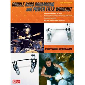 SORUM MATT / ALIANO SAM - DOUBLE BASS DRUMMING AND POWER FILLS WORKOUT