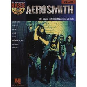 AEROSMITH - BASS PLAY-ALONG VOL.36 + CD