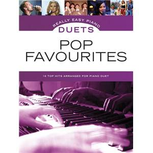 COMPILATION - REALLY EASY PIANO DUETS POP FAVOURITES