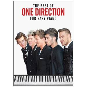 ONE DIRECTION - THE BEST OF EASY PIANO