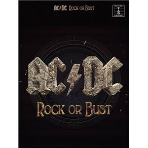 AC/DC - ROCK OR BUST GUIT. TAB.
