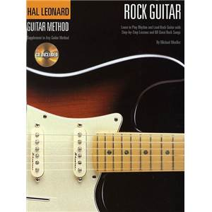 MUELLER MICHAEL - GUITAR METHOD ROCK GUITAR + CD