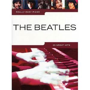 BEATLES THE - 23 GREAT HITS REALLY EASY PIANO