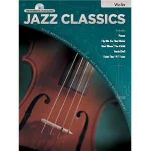 COMPILATION - INSTRUMENTAL PLAY ALONG JAZZ CLASSICS VIOLON + CD