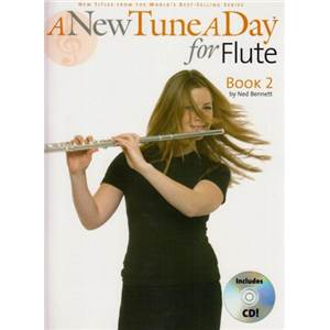 BENNETT NED - A NEW TUNE A DAY FOR FLUTE BOOK 2 + CD