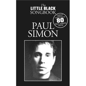 SIMON PAUL - THE LITTLE BLACK SONGBOOK PLUS DE 80 CHANSONS FORMAT POCHE
