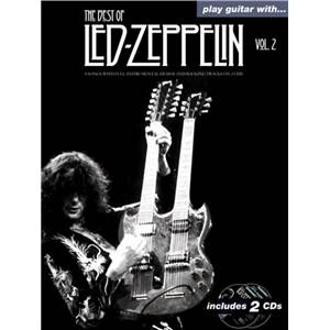 LED ZEPPELIN - BEST OF VOL.2 PLAY GUITAR WITH + CD