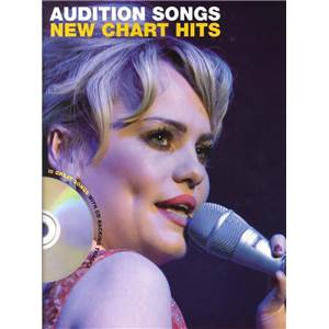 COMPILATION - AUDITION SONGS FOR FEMALE SINGERS : NEW CHART HITS + CD