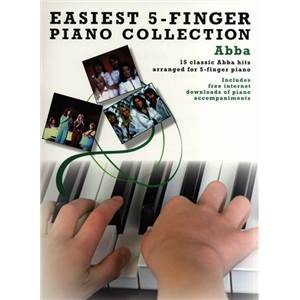 ABBA - EASIEST 5 FINGER PIANO COLLECTION