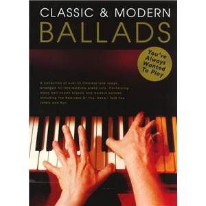 COMPILATION - CLASSIC AND MODERN BALLADS YOU'VE ALWAYS WANTED TO PLAY EPUISE