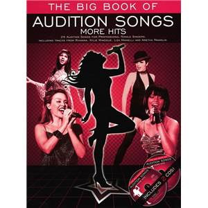 COMPILATION - AUDITION SONGS FOR FEMALE SINGERS : MORE HITS + 2CDS
