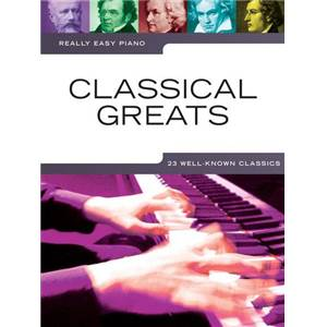 COMPILATION - REALLY EASY PIANO CLASSICAL GREATS