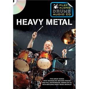 COMPILATION - HEAVY ROCK PLAY ALONG DRUMS (FORMAT DVD) + CD