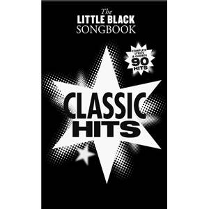 COMPILATION - LITTLE BLACK SONGBOOK CLASSIC SONGS PLUS DE 130 CHANSONS FORMAT POCHE