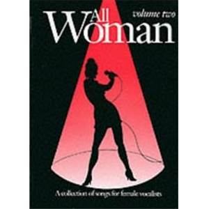 COMPILATION - ALL WOMAN VOL.2 COLLECTION OF SONGS FOR FEMALE VOCALISTS P/V/G
