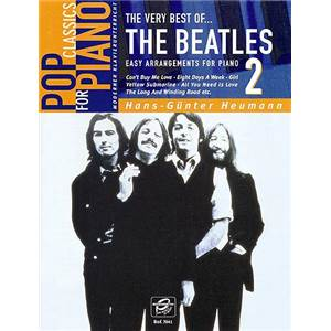 BEATLES THE - THE VERY BEST OF VOL.2 EASY PIANO SOLOS